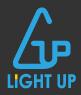 ライトアップ(LIGHT UP)ロゴ